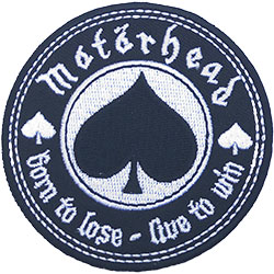Motorhead Standard Patch: Born to Love, Live to Win