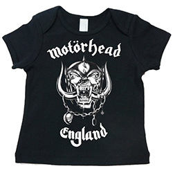Motorhead Kid's Tee: England (Toddler's Fit)