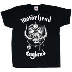Motorhead Kid's Tee: England (Youth's Fit)