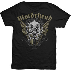 Motorhead Men's Tee: Wings