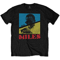 Miles Davies Men's Tee: Throwback