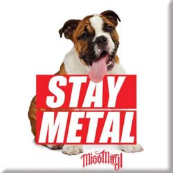 Miss May I Fridge Magnet: Dog