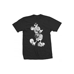 Disney Unisex Tee: Mickey Mouse Vintage Infill