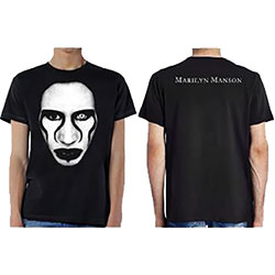 Marilyn Manson Unisex Tee: Defiant Ones (Ex Tour/Back Print)