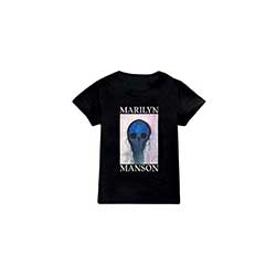 Marilyn Manson Kids Tee: Halloween Painted Hollywood