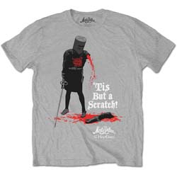 Monty Python Men's Tee: Tis But A Scratch