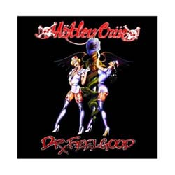 Motley Crue Greetings Card: Dr Feelgood