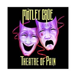 Motley Crue Greetings Card: Theatre Card