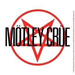 Motley Crue Single Cork Coaster: Shout at the Devil
