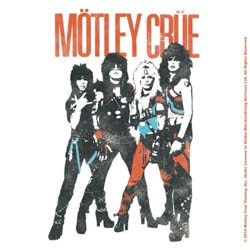 Motley Crue Single Cork Coaster: Vintage World Tour