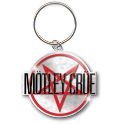 Motley Crue Standard Keychain: Shout at the Devil