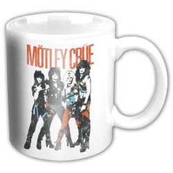 Motley Crue Boxed Standard Mug: World Tour Vintage