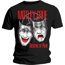 Motley Crue Unisex Tee: Theatre of Pain Cry