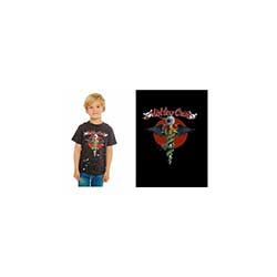 Motley Crue Kids Tee: Feelgood Red Circle
