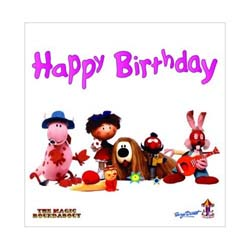 Magic Roundabout Greetings Card: Characters
