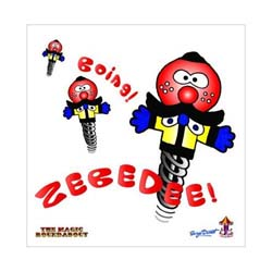 Magic Roundabout Greetings Card: Zebedee