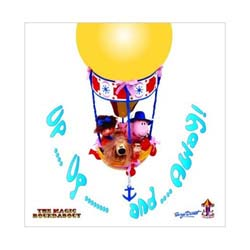 Magic Roundabout Greetings Card: Balloon Ride