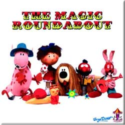 Magic Roundabout Fridge Magnet: Characters
