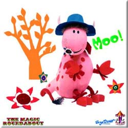 Magic Roundabout Fridge Magnet: Ermintrude