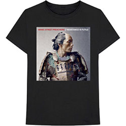 Manic Street Preachers Men's Tee: Resistance is Futile Album Cover