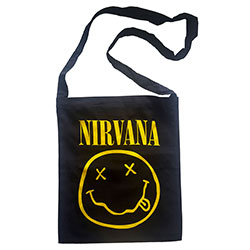 Nirvana Messenger Bag: Smiley