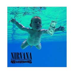 Nirvana Greetings Card: Never Mind