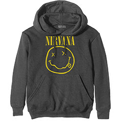 Nirvana Unisex Hoodie: Yellow Smiley