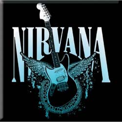 Nirvana Fridge Magnet: Jag-Stang Wings