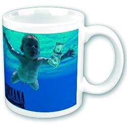 Nirvana Boxed Standard Mug: Never mind