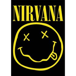 Nirvana Postcard: Smiley (Standard)