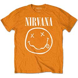 Nirvana Kids Tee: White Smiley