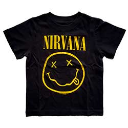 Nirvana Kids Tee (Toddler): Yellow Smiley