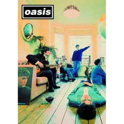 Oasis Greetings Card: Definitely Maybe