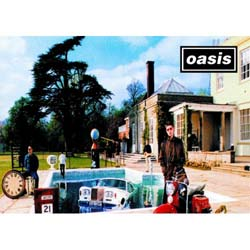 Oasis Greetings Card: Be Here Now