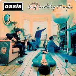 Oasis Single Cork Coaster: Definitely Maybe