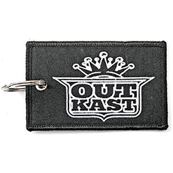 Outkast Keychain: Imperial Crown Logo (Double Sided Patch)