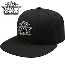 Outkast Unisex Snapback Cap: White Imperial Crown