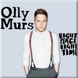 Olly Murs Fridge Magnet: Right Time