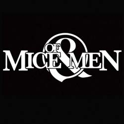 Of Mice & Men Single Cork Coaster: Logo