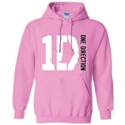 One Direction Ladies Pullover Hoodie: Logo