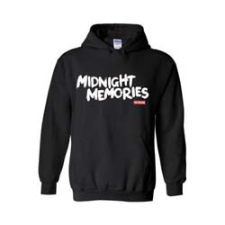One Direction Ladies Pullover Hoodie: Midnight Memories (Small)