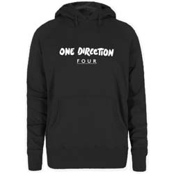 One Direction Ladies Pullover Hoodie: Four