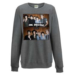 One Direction Ladies Sweatshirt: Four