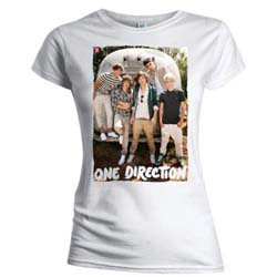 One Direction Ladies Tee: Airstream (Skinny Fit)