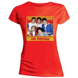 One Direction Ladies Tee: Cool (Skinny Fit)