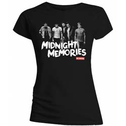 One Direction Ladies Tee: Midnight Memories