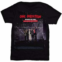 One Direction Ladies Tee: San Siro Movie