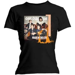 One Direction Ladies Tee: Made in the A.M. (Skinny Fit)