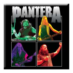 Pantera Fridge Magnet: Band Photo