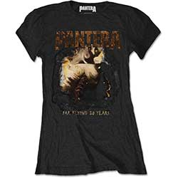 Pantera Ladies Tee: Original Cover
